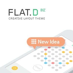 FLAT.D 테마디자인 - BIZ